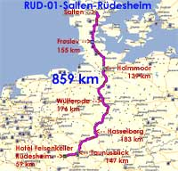 Rudesheim Tur Retur